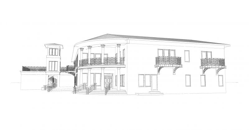 New Home Schematic Design Study > Residential > Projects